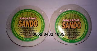 Agen Jual harga murah sabun sereh SANDO asli BPOM ORIGINAL