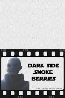 Printable Label for Star Wars Food: Snoke Berries