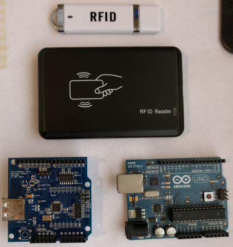 How to use USB RFID readers on an Arduino Uno