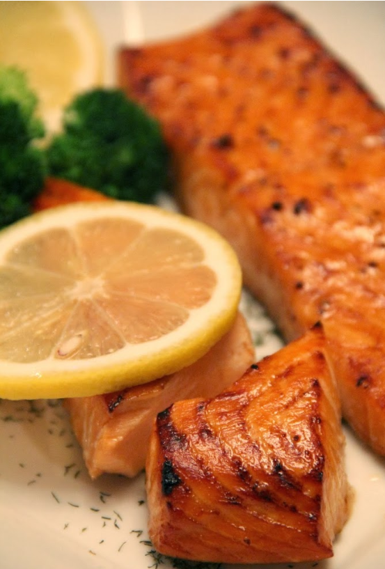 With all of the comfort food dishes I've been making lately, this Brown Sugar Salmon was definitely a welcome change. Seafood just tends to be a lighter and healthier option, and I try my best to incorporate it into our meal plans at least once or twice a week.