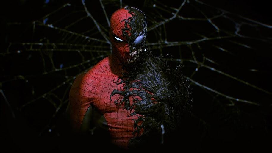 Spider-Man, Venom, Symbiote, 4K, #6.1990