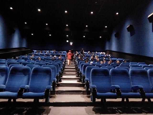 Bioskop Kota Cinema Mall, Desain Unik dalam bioskop