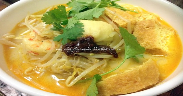 Prawn Curry Laksa Recipe