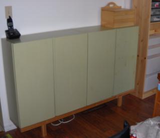 home ivar sideboard or hidealottastuff. Black Bedroom Furniture Sets. Home Design Ideas