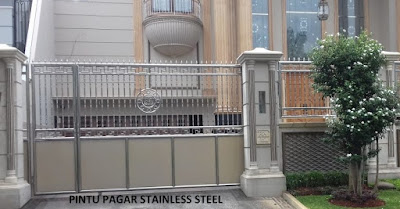 model pagar stainless steel terbaru
