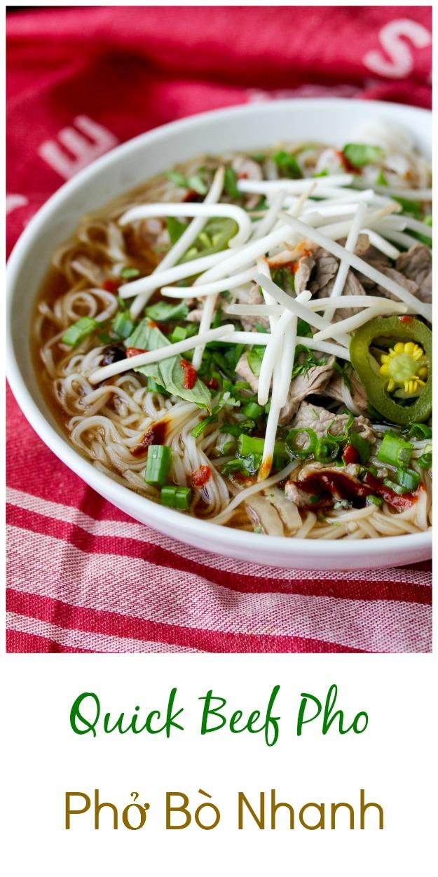 Quick Beef Pho | Phở Bò Nhanh #pho #vietnamesesoup #vietnamesefood