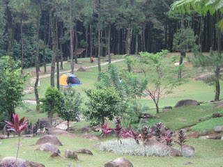 Gunung Pancar Camp Area