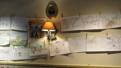 Πραγματοποιήθηκε με επιτυχία η 1η έκθεση σκίτσου των φίλων σκίτσου της Ευξείνου Λέσχης Βέροιας, στο γνωστό art καφέ McOza.