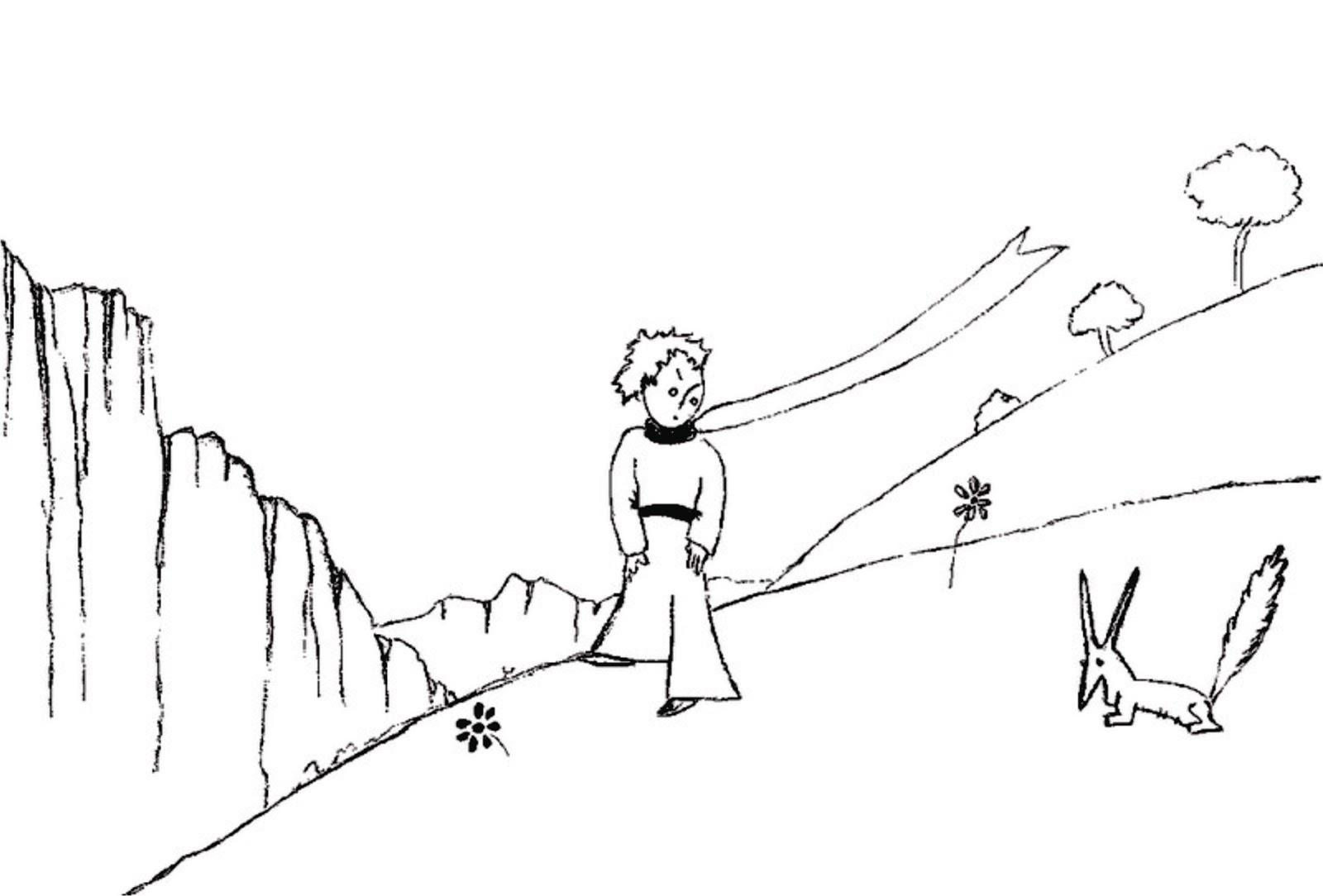 """Piccolo Para Colorear: Dibujos Ideia Criativa: Desenho """"O Pequeno Príncipe"""" Para"""