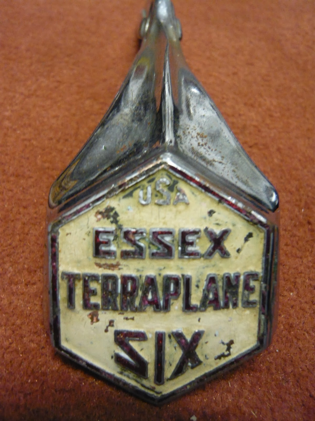 Car Makers 4 Letters >> RadiatorEmblems: ESSEX MOTORS / SUPER SIX / TERRAPLANE