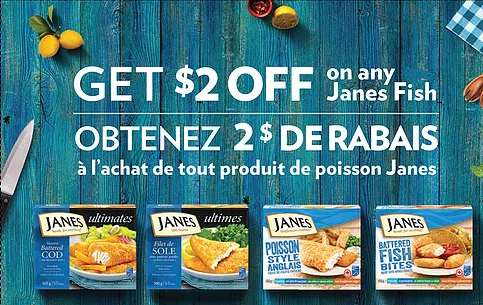 NEW Janes Coupon + $1.99 for Janes Chicken