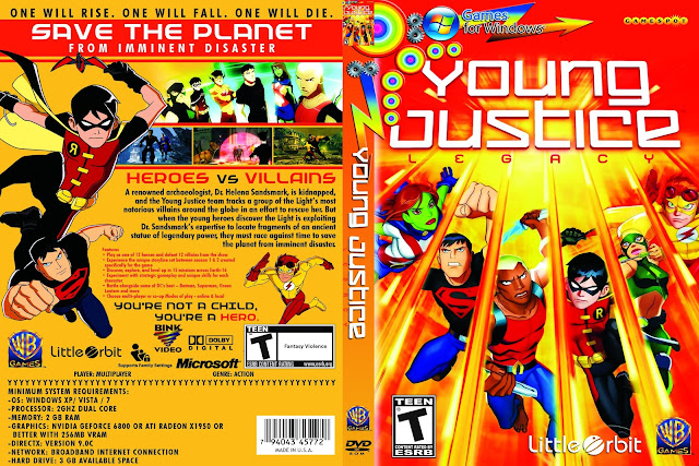 Capa Young Justice Legacy PC