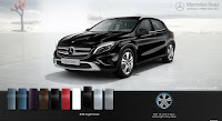 Mercedes GLA 200 2015 màu Đen Night 696