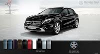 Mercedes GLA 200 2017 màu Đen Night 696