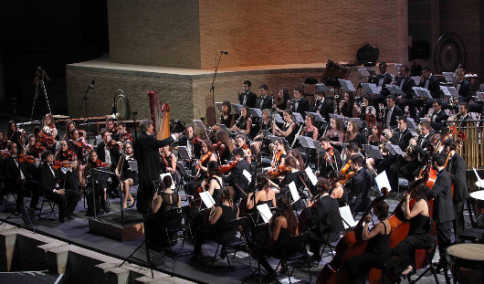 La Jove Orquestra de la Generalitat inaugura las actuaciones en el Teatro Romano de Sagunt a Escena