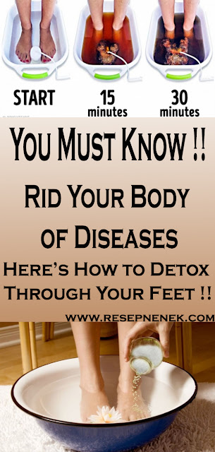 Rid Your Body of Diseases, Here's How to Detox Through Your Feet