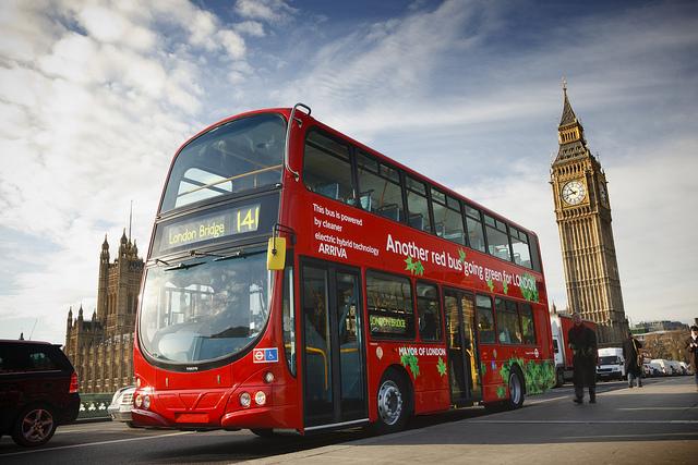 Лондонский автобус доклад на английском языке 9280