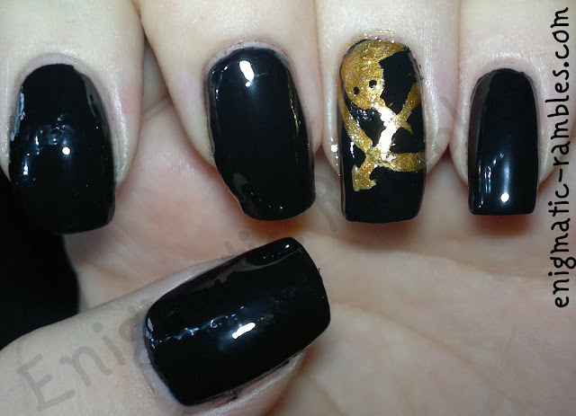 hunger-game-inspired-nail-nails-art-freehand