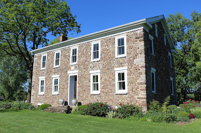 Cobblestone Buildings in Wayne County, New York on