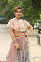 Aafia Bhardwaj looks stunning in transparent pink small choli chunni ghargra at launch of India Silk Expo ~ Exclusive Celebrity Galleries 015.JPG