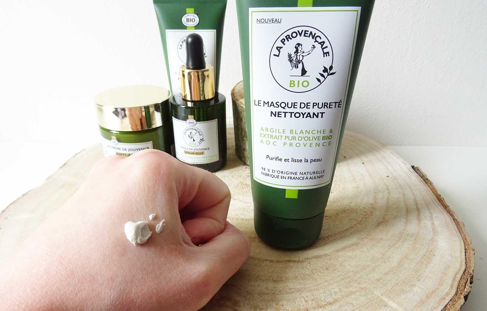 La Provençale soins visage bio naturels masque de pureté
