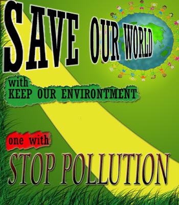 poster bahasa inggris tentang lingkungan hidup