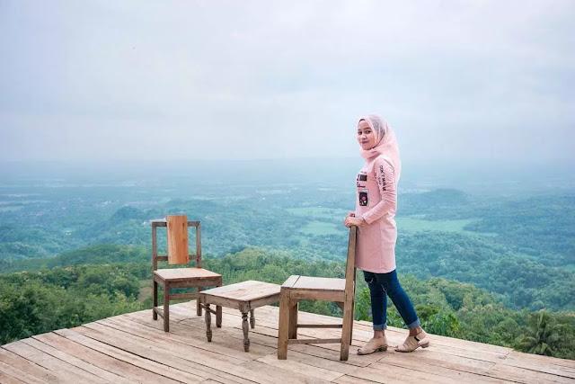 Lokasi, Fasilitas, dan Tiket Masuk Bukit Watu Goyang Bantul Yogyakarta