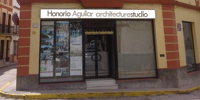Fachada Estudio Honorio Aguilar Cantillana