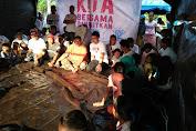 Peduli Lombok, Kita Jokowi Bangun Sekolah Darurat di KLU dan Lobar