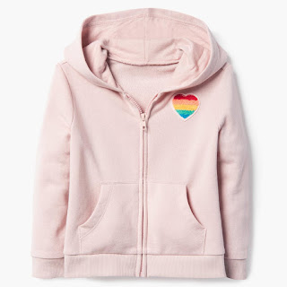 Heart Patch Hoodie