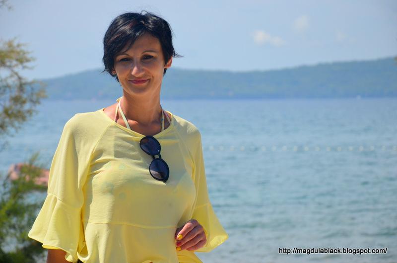 Północna Dalmacja -Bibinje – mała miejscowość blisko plaży. Moje wakacje w Chorwacji.