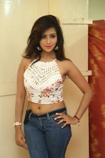 Deekshita Parvathi in a short crop top and Denim Jeans Spicy Pics Beautiful Actress Deekshita Parvathi January 2017 CelebxNext (14).JPG