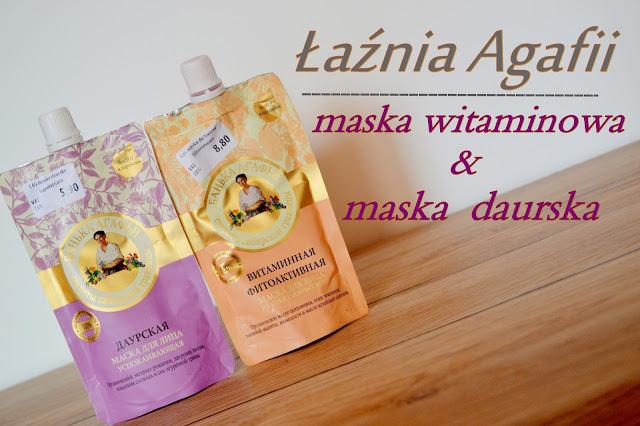Łaźnia Agafii, maska do twarzy witaminowa & uspokajająca - Recenzja