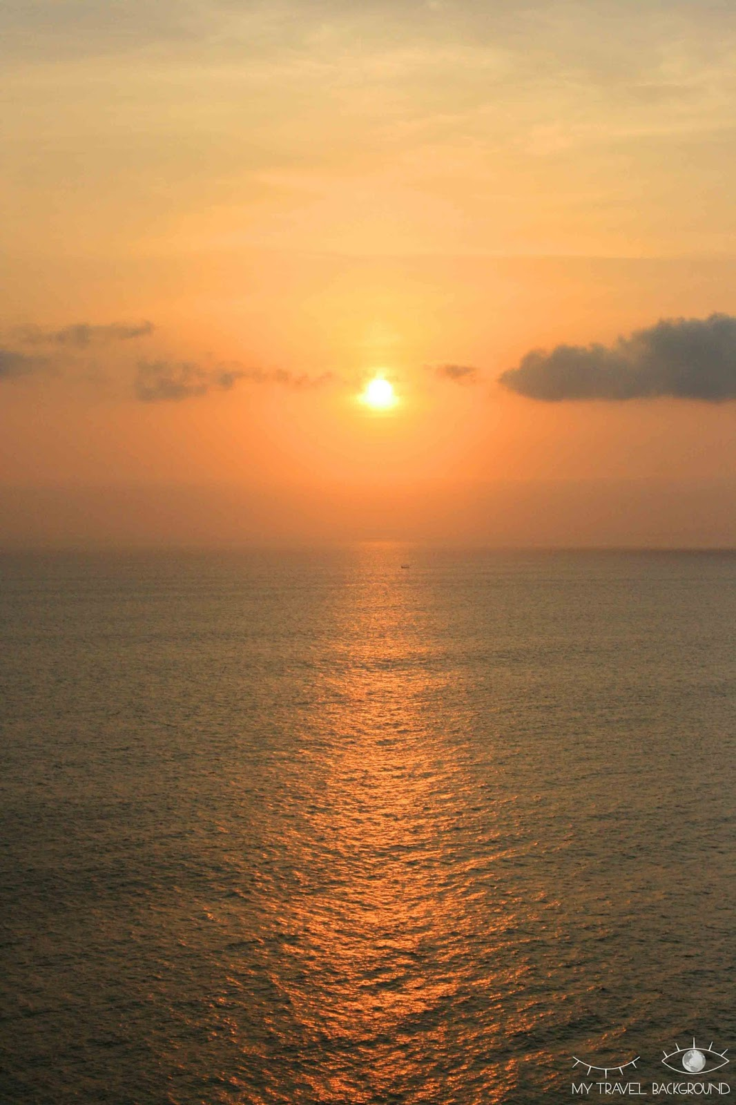 My Travel Background : A la découverte de Kuta et du Sud de Bali - Coucher de soleil à Uluwatu