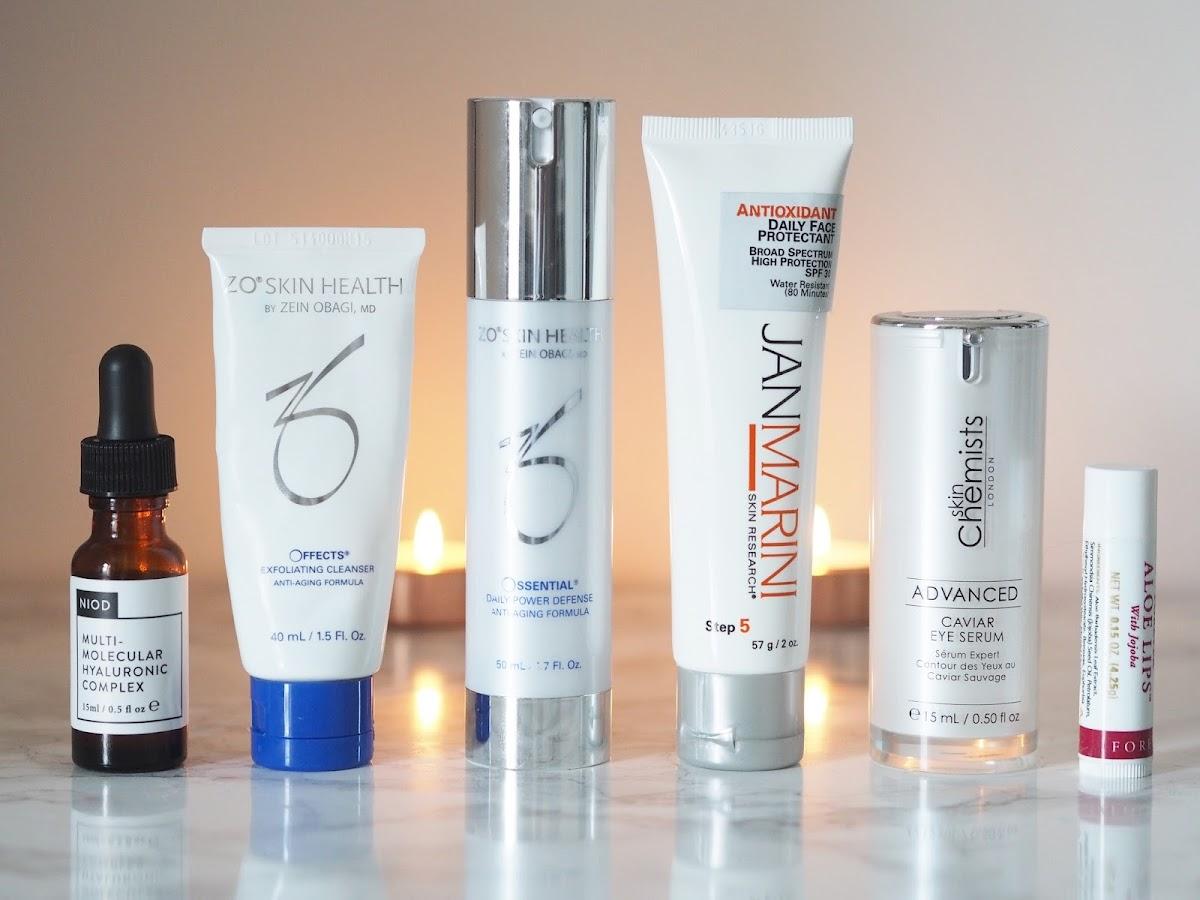 Winter skin saviours beauty ZO Skin health Jan Marini Priceless Life of Mine Over 40 lifestyle blog