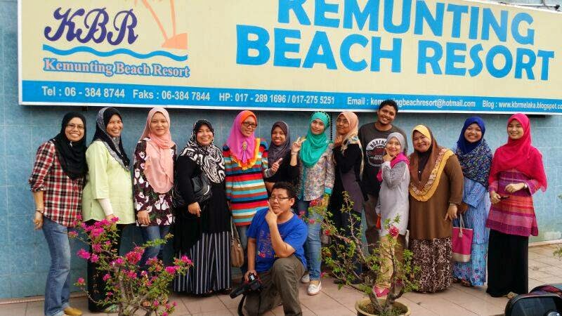 KBR, kemunting beach resort, gmf group, kelas blog, melaka resort, pengkalan balak, blogger