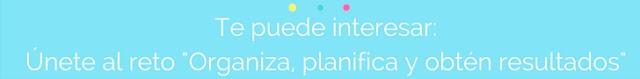 organiza y planifica tu plan de acción