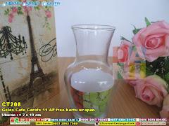 Gelas Cafe Carafe 11 AF Free Kartu Ucapan