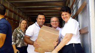 Paróquia de Cuité envia 17 mil latas de Leite para Associação