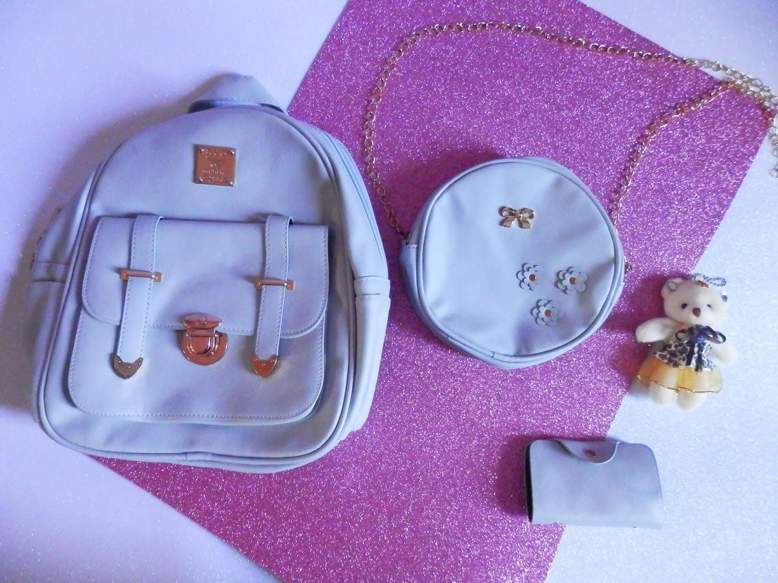 mochila, bolsa e carteira gamiss da china