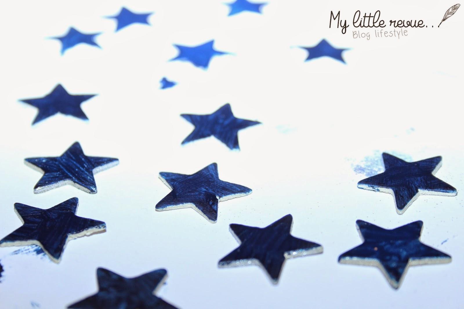 DIY guirlande étoiles facile