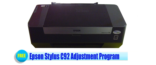 Epson Stylus C92 Adjustment Program