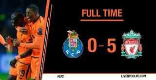 FC Porto vs Liverpool 0-5 Highlights Liga Champions