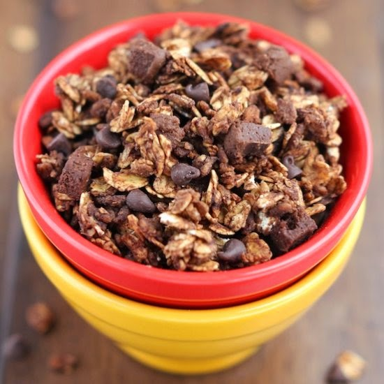 Amy's Healthy Baking | Double Chocolate Brownie Granola