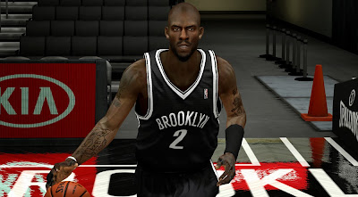 NBA 2K14 Kevin Garnett Cyberface Patch