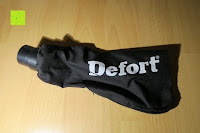 Beutel: Defort DEP-900-R Elektrohobel 900 W, Falzfunktion, Spanauswurfsystem