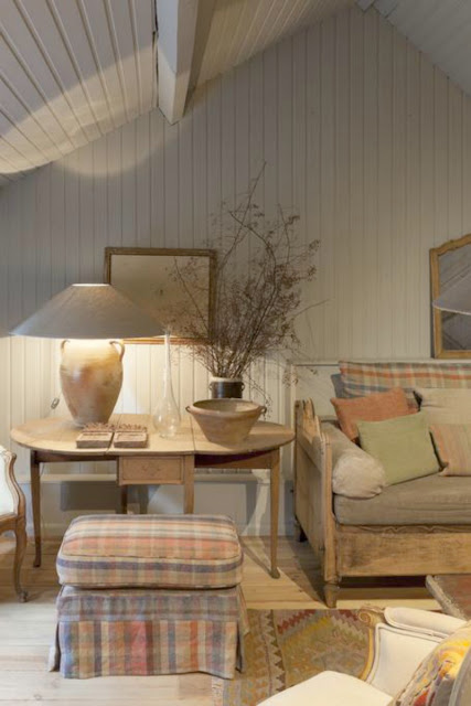 Gorgeous rustic warm interior design in Belgian apartment - found on Hello Lovely Studio