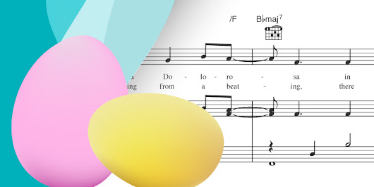 Sheet Music for Your Easter Celebration