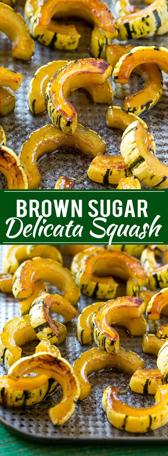 BROWN SUGAR DELICATA SQUASH