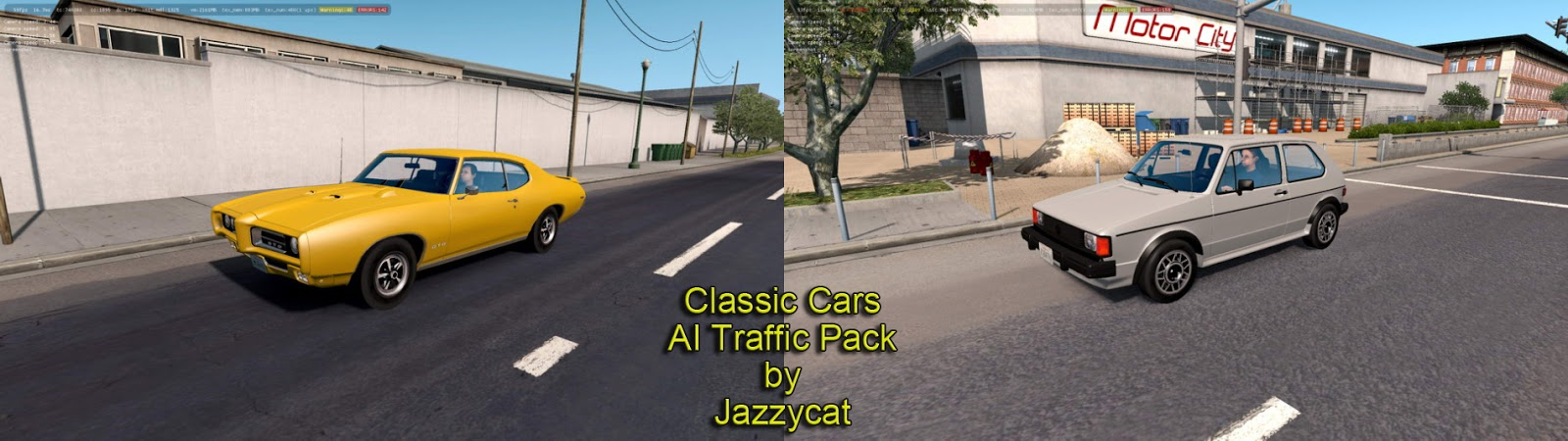 ATS - Classic Cars AI Traffic Pack v3 0 by Jazzycat